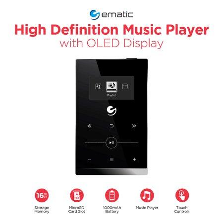 Ematic 16GB High Def Music Pla