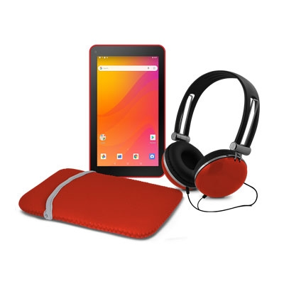 """Ematic 7""""Android 8 1 Tab Red"""