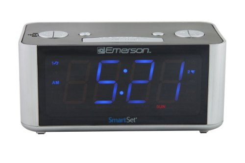 SmartSet Radio Alarm Clock LED