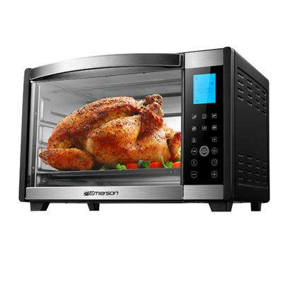 6 Slice Toaster Oven Black
