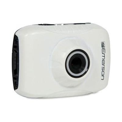 Emerson HD ActionCam Digital Video Camera, White