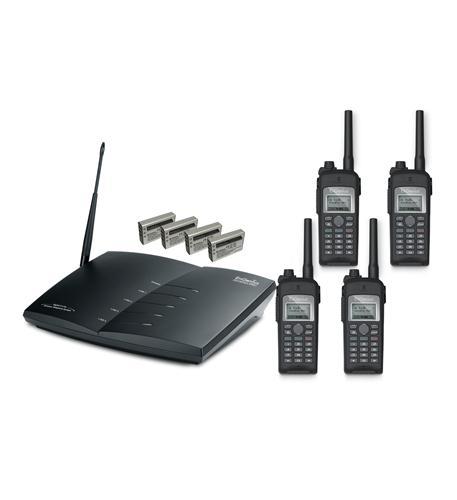 (4)DuraFon-UHF-HC- (1)PRO- (4)UHF-BA
