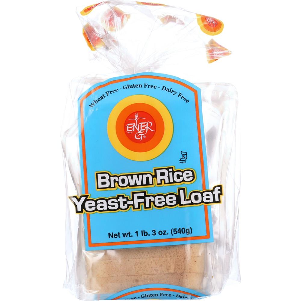 Ener-G Foods - Brown Rice Yeast Free Loaf ( 6 - 19 OZ)