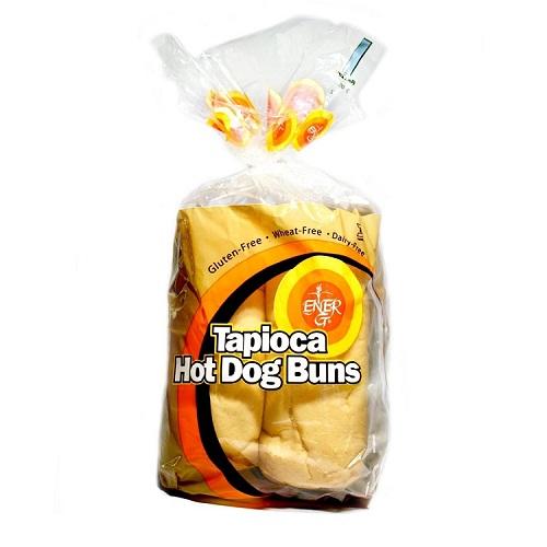 Ener-G Tapioca Hot Dog Buns (6x7.76 Oz)