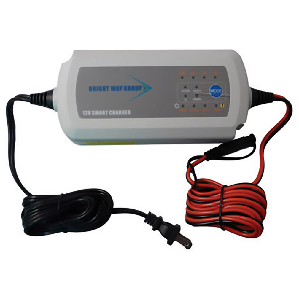 Bright Way Group 7.5A 12 Volt Desulfating Smart Charger/Maintainer