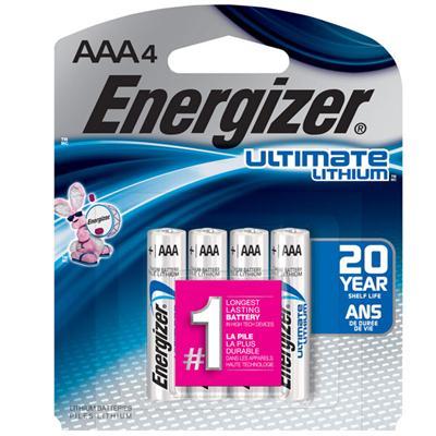 Energizer Ultimate LI AAA 4 Pk