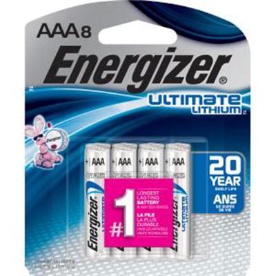 Energizer Ultimate LI AAA 8 Pk