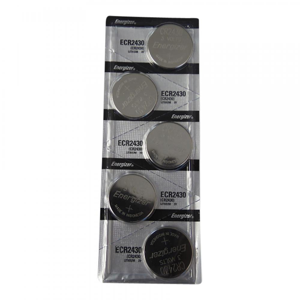 Energizer ECR2430 Lithium 3V Cell Batteries, Sold in strips of 5 only