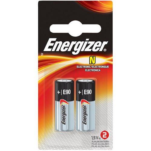Energizer E90 1.5-Volt N-Size Alkaline Battery 2-Pack