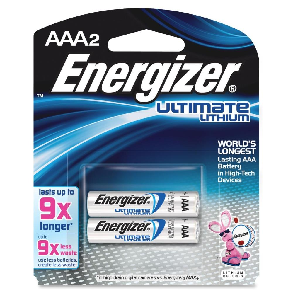 Energizer EL92BP2 AAA-2 Lithium Battery