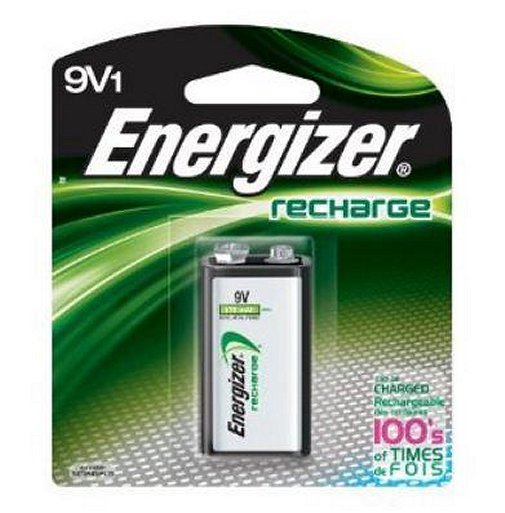 Energizer Recharge 9-Volt Rechargeable Battery