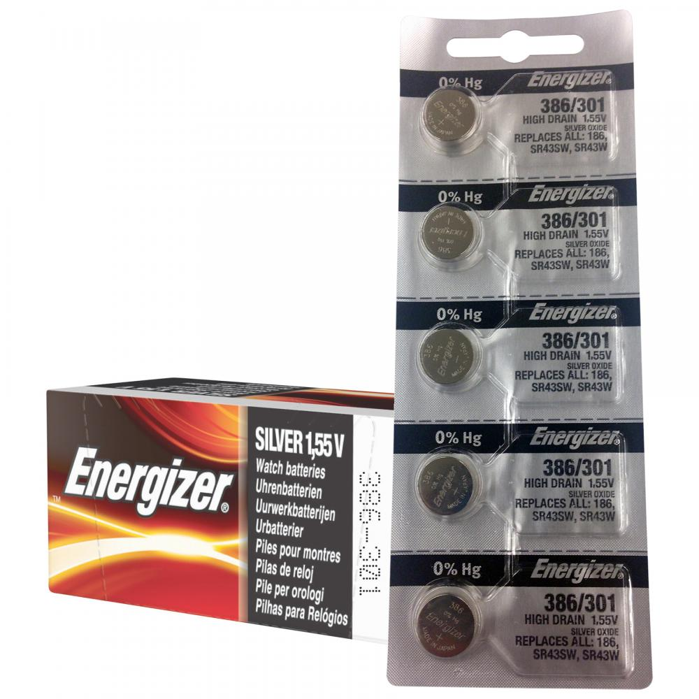 Energizer SR-1120SW - 301/386 Watch/Calculator Battery