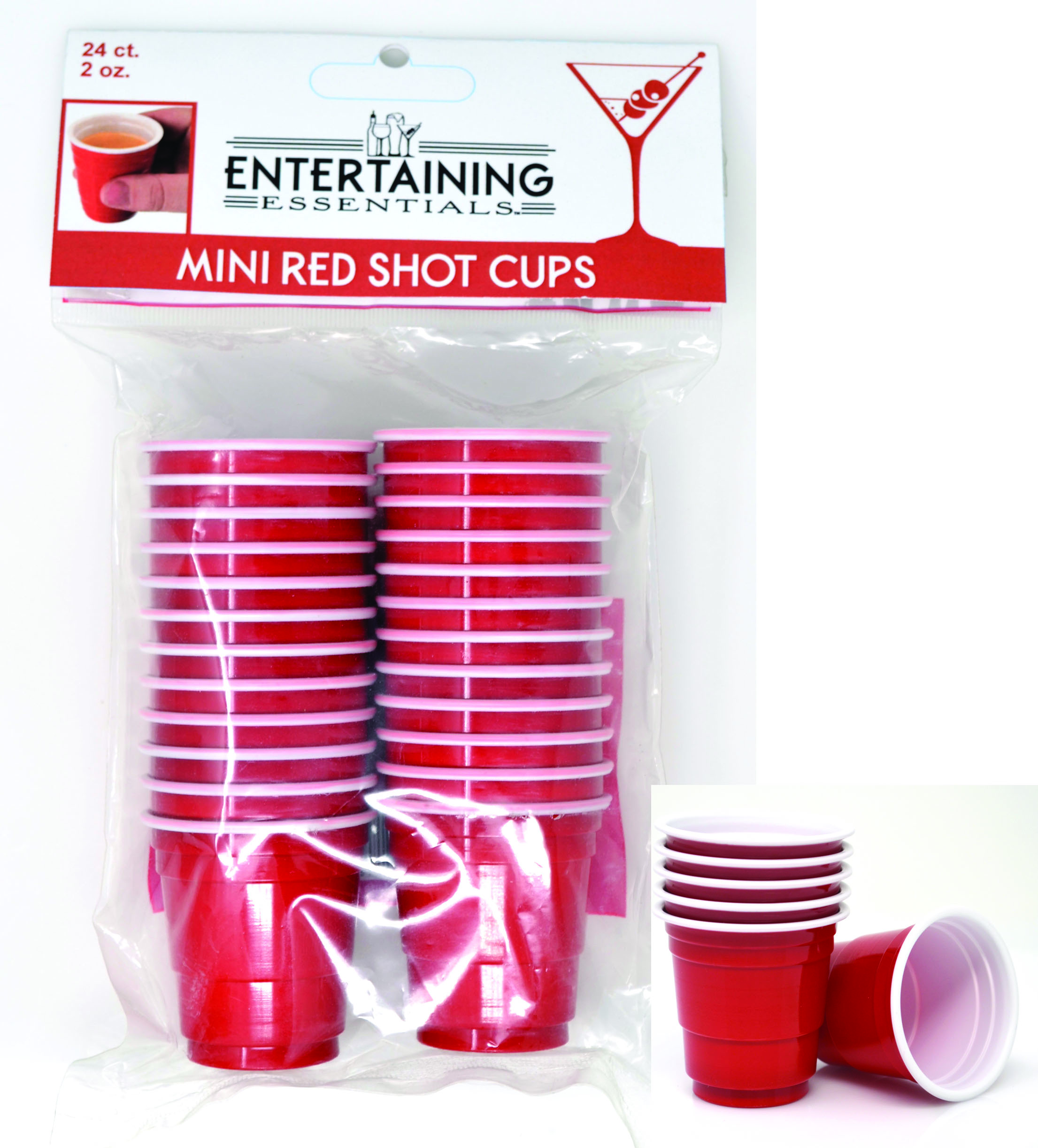 Shot Glasses - 24 pc