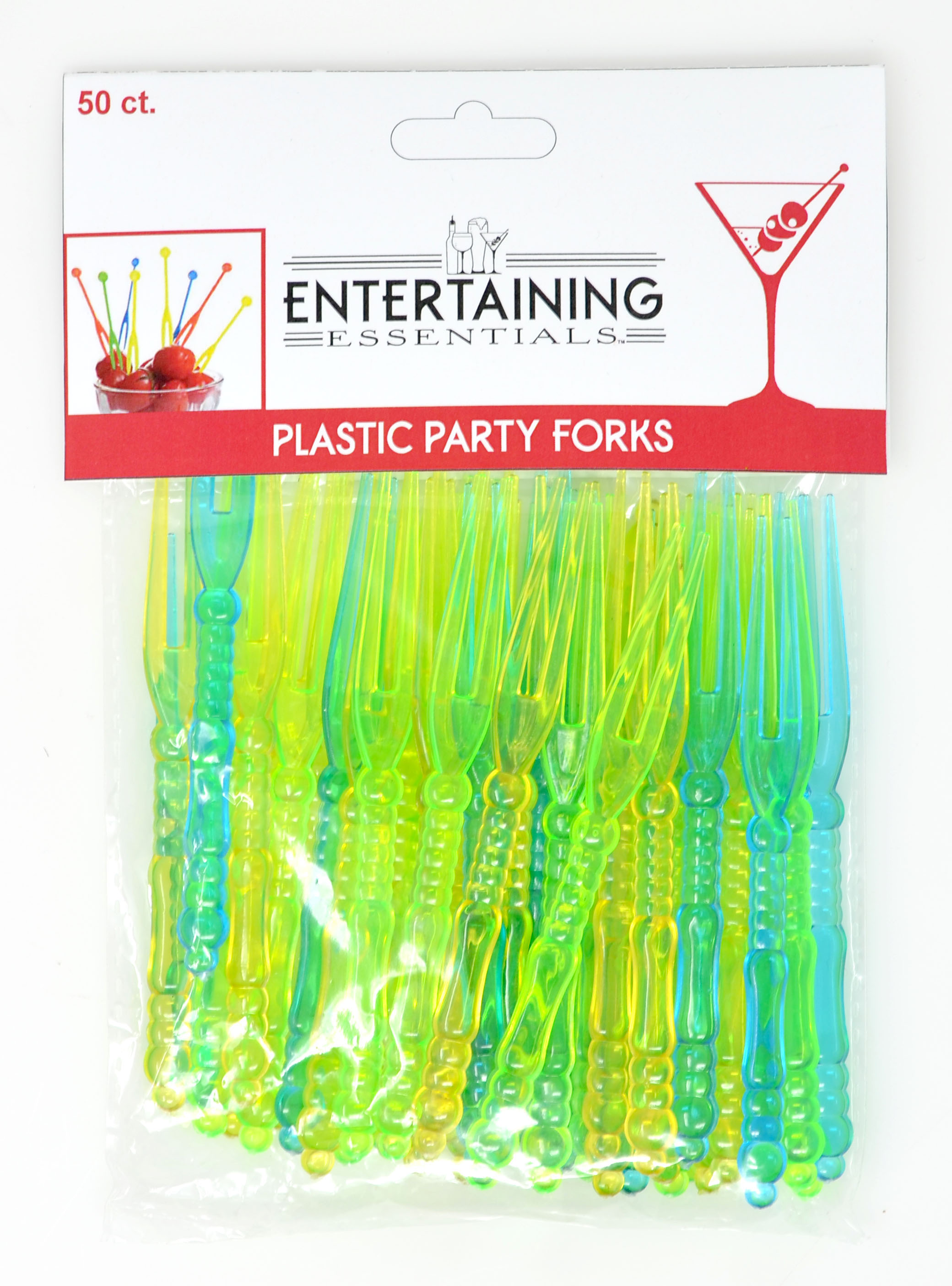 Plastic Party Forks - 50 pc