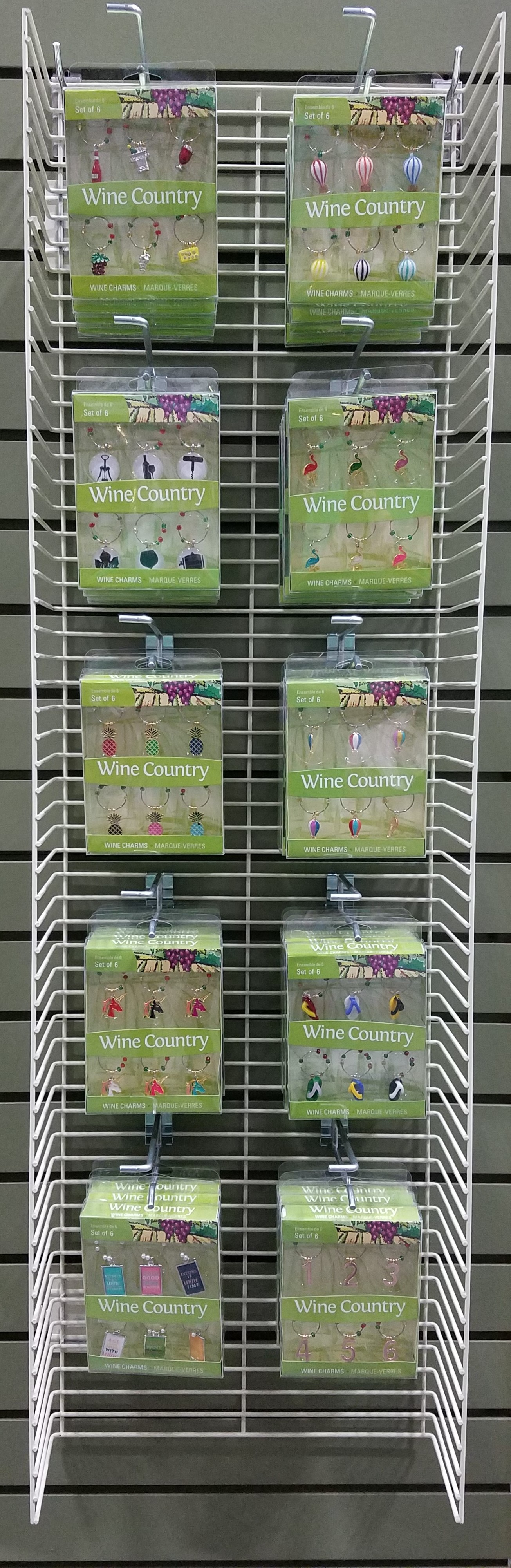 Everyday Wine Charm Display Panel