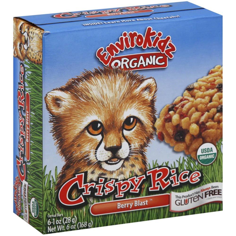 Envirokidz - Organic Berry Blast Crispy Rice Bar ( 6 - 6 OZ)