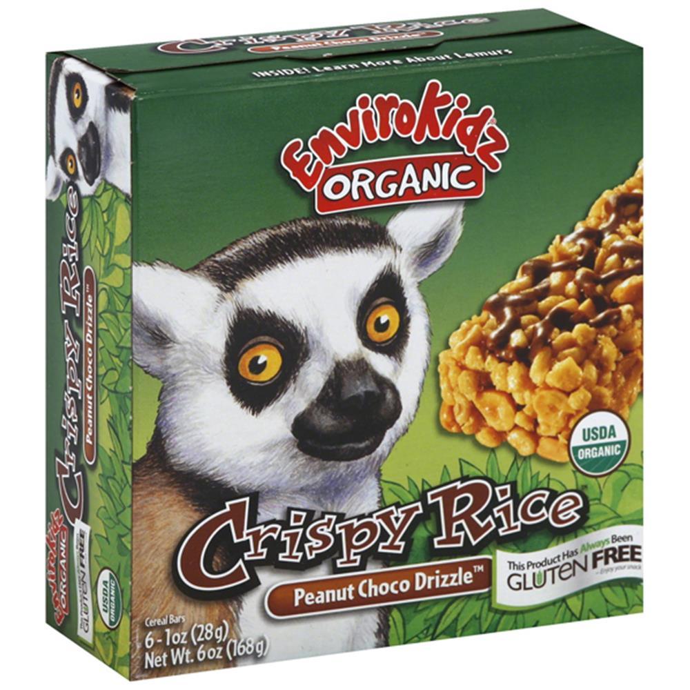 Envirokidz - Organic Peanut Chocolate Crispy Rice Bar ( 6 - 6 OZ)