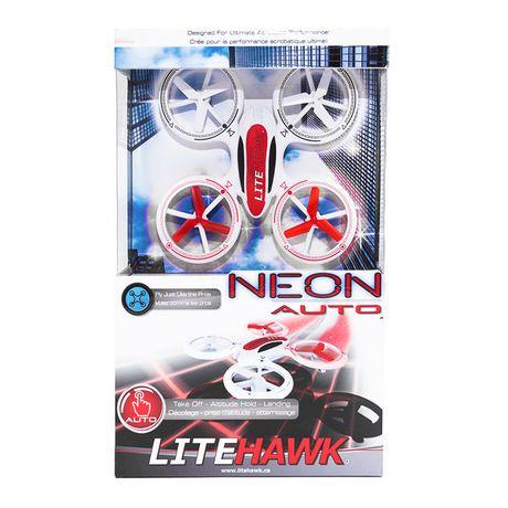 LiteHawk Neon Auto Quadcopter