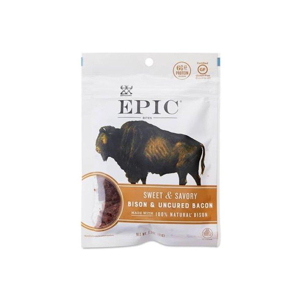 Jerky Bites - Bison Meat ( 8 - 2.5 OZ )