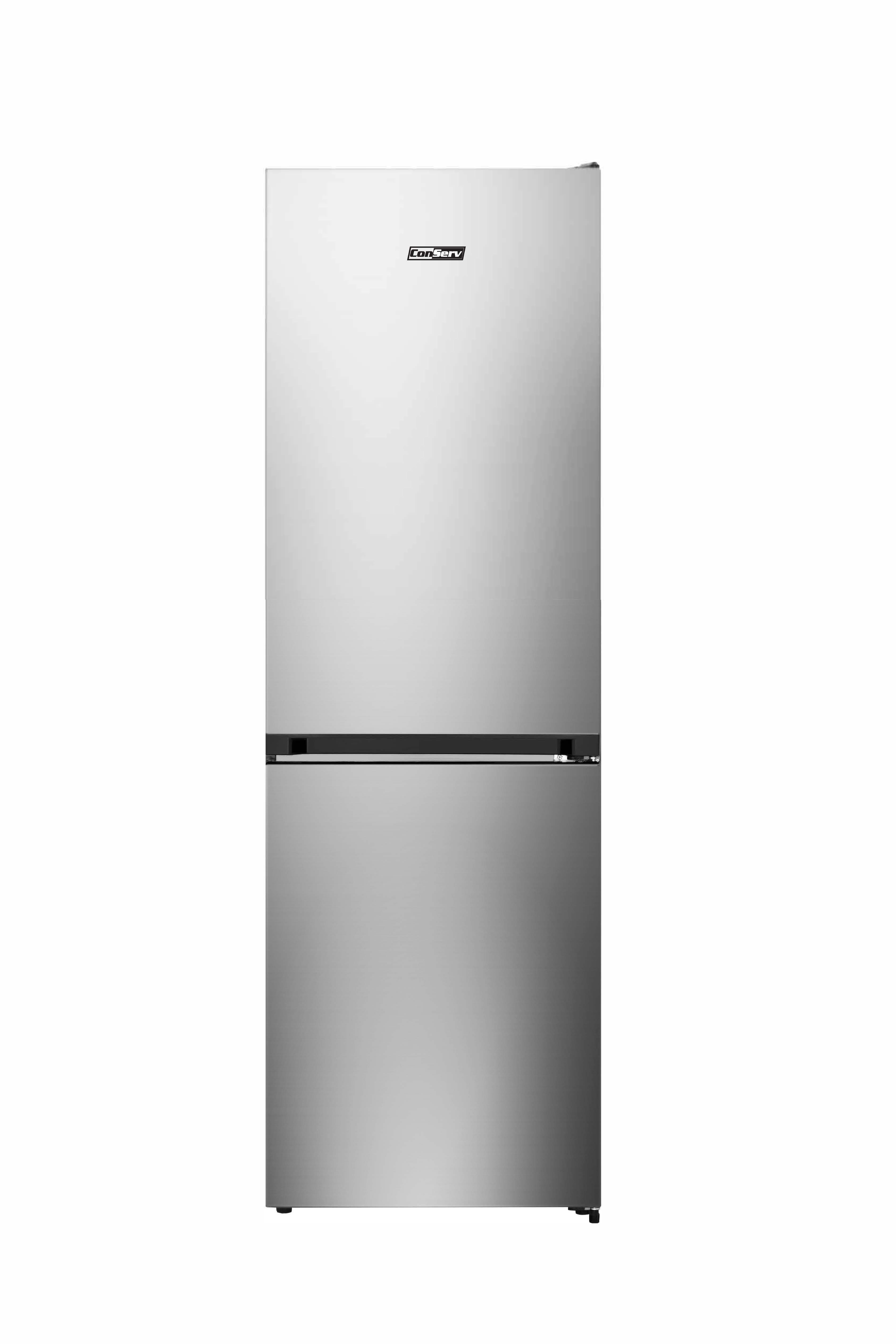 11.5 cu.ft Real Stainless Bottom Freezer Refrigerator