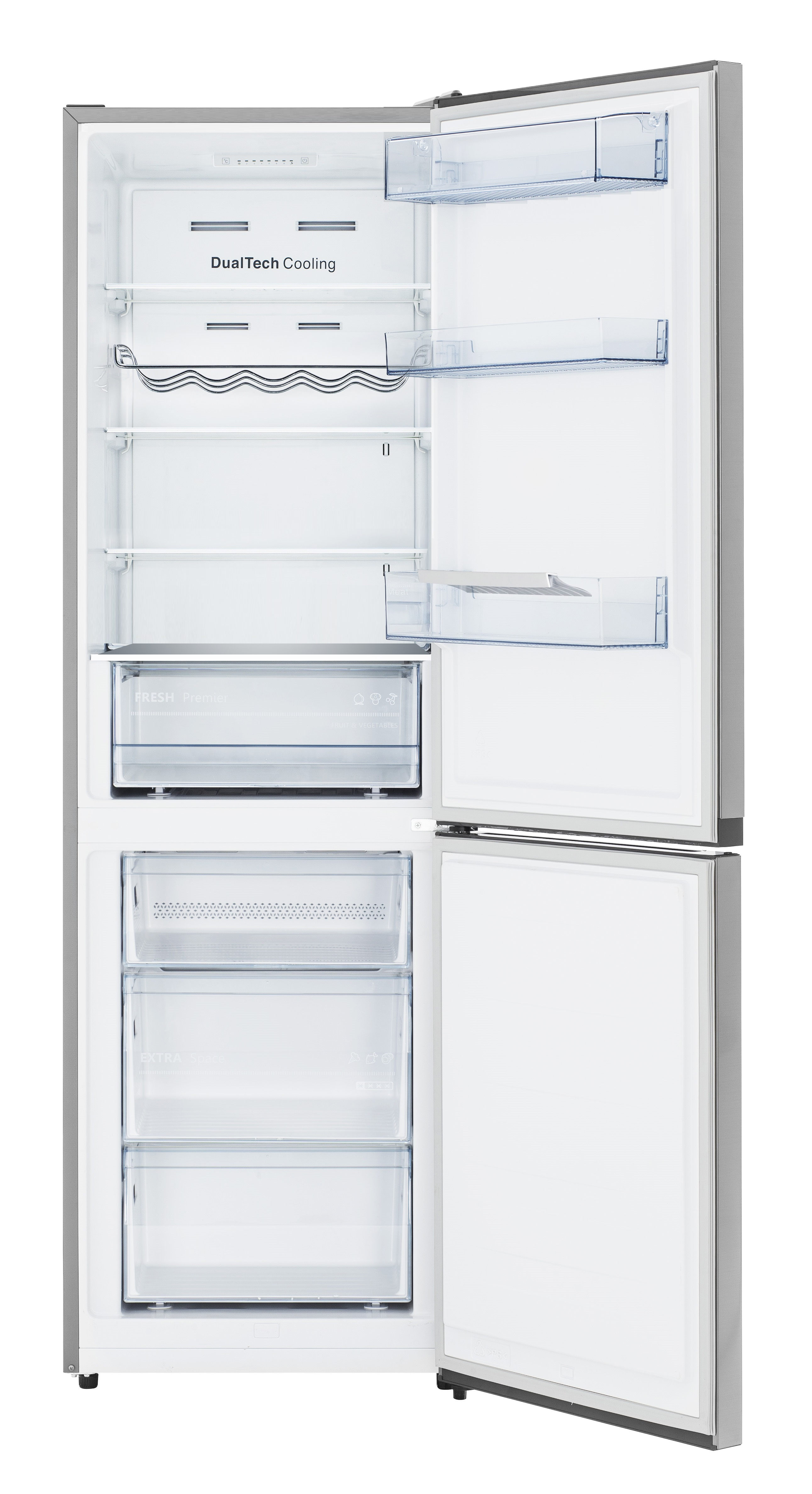 Conserv 10.8 Cu. Ft. Tall Bottom Mount Frost-Free Apartment Refrigerator in Stainless Steel