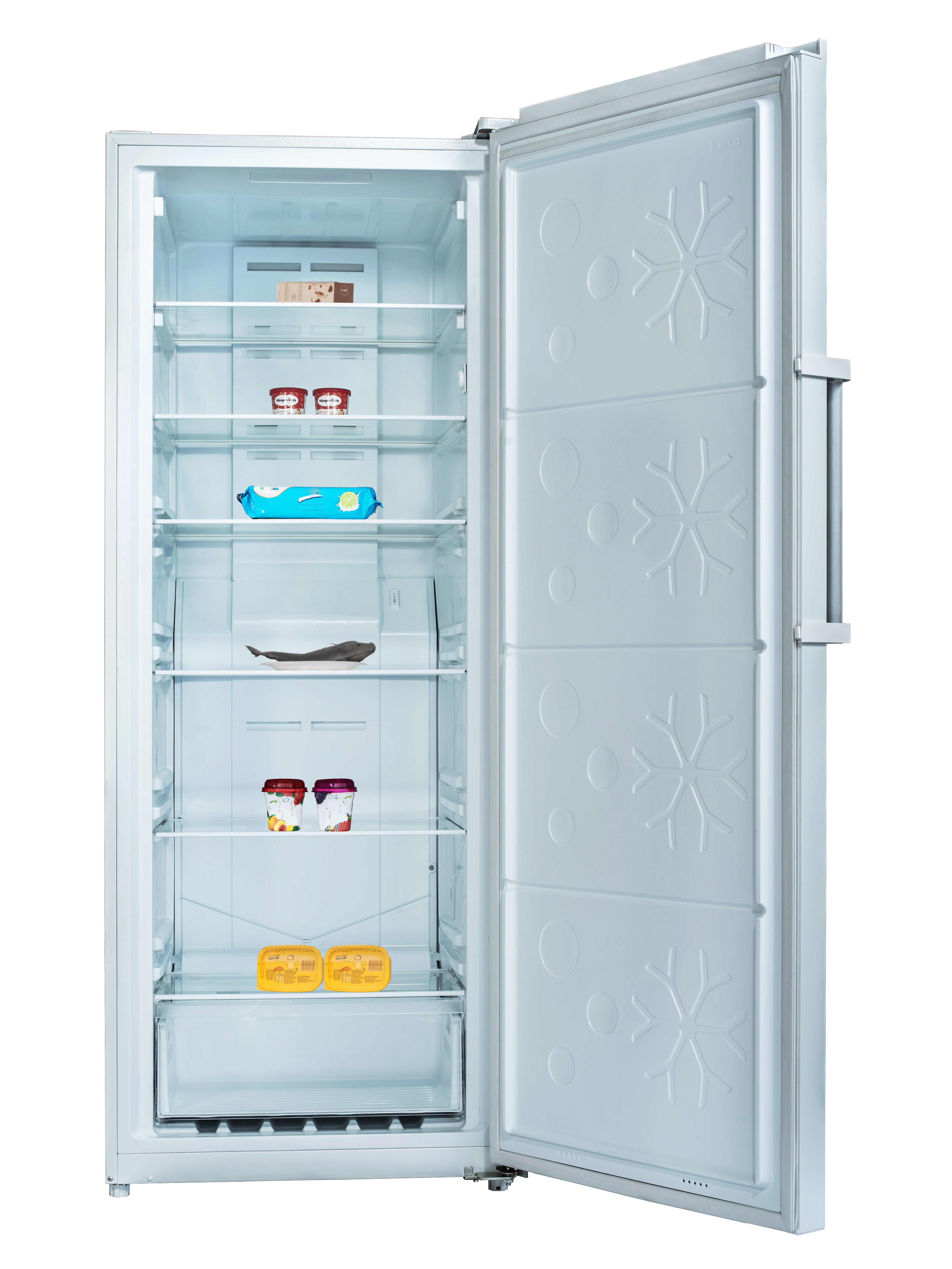 Conserv 13.5 cu. ft. Frost Free Upright Freezer in Stainless with Reversible Door