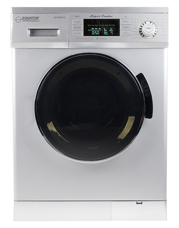 Super Combo Washer-Dryer, Silver