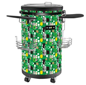 Party coolers 1.77 Cu.Ft / 70 Bottles, Single Zone - Green