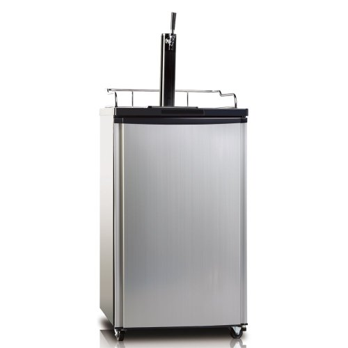 Beer Dispenser, 4.9 cu. ft., Convertible for Refrigerator Application, Stainless Steel