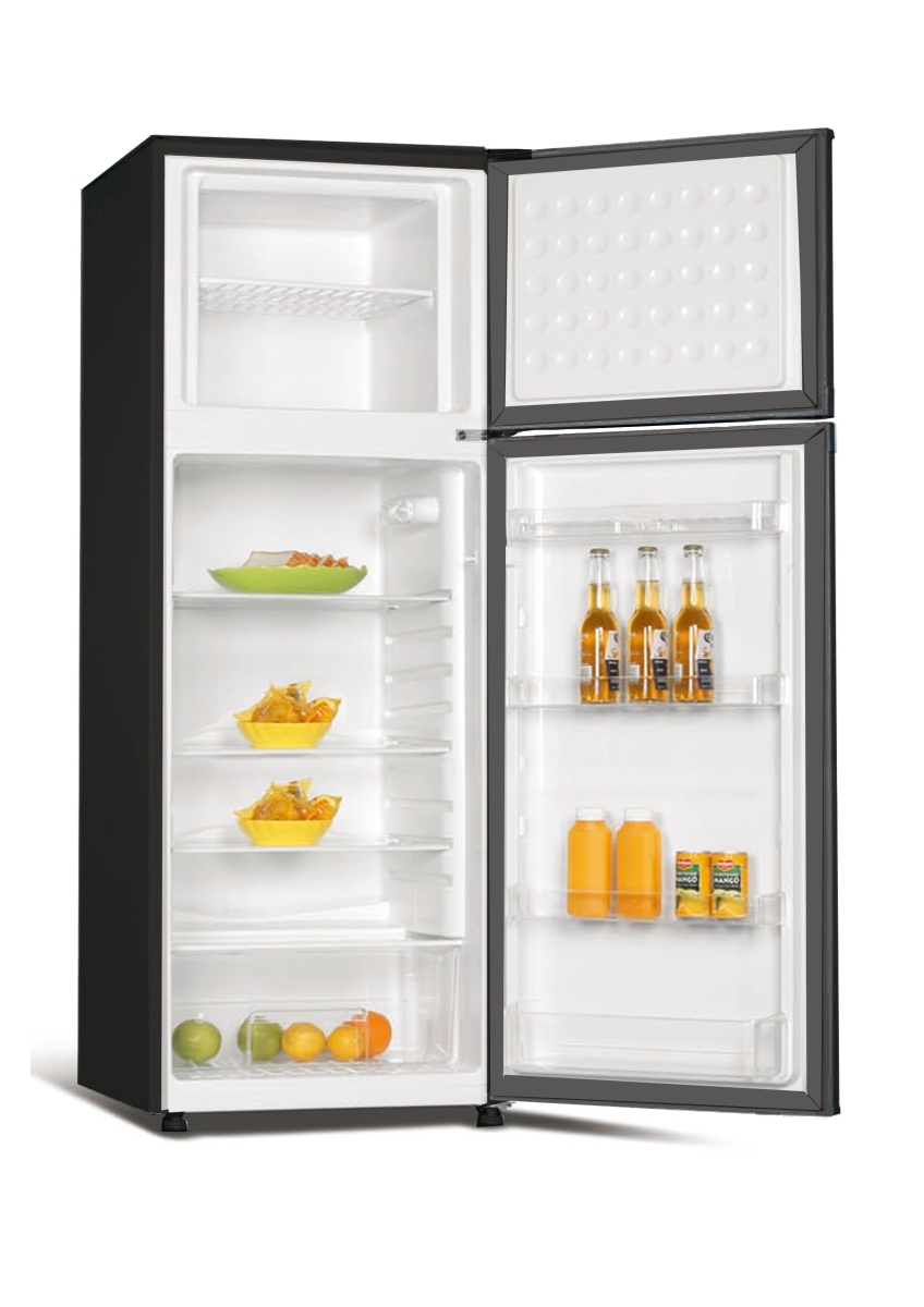 Equator-Conserv 7.3 cu.ft. Refrigerator-Top Freezer Stainless
