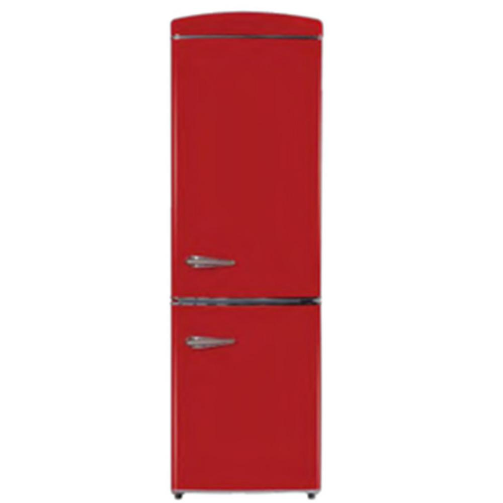 Equator-Conserv 10.8 cu.ft. Bottom Freezer Retro Refrigerator
