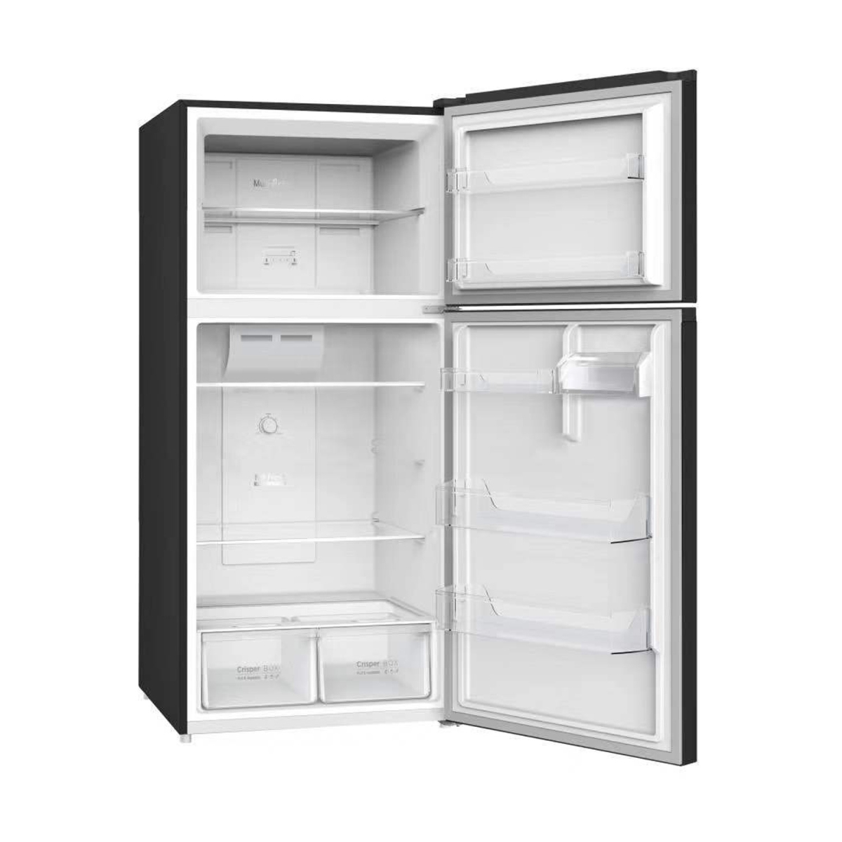 Equator-Conserv 18 cu.ft. Top Freezer Apartment Refrigerator Stainless with Ice Maker