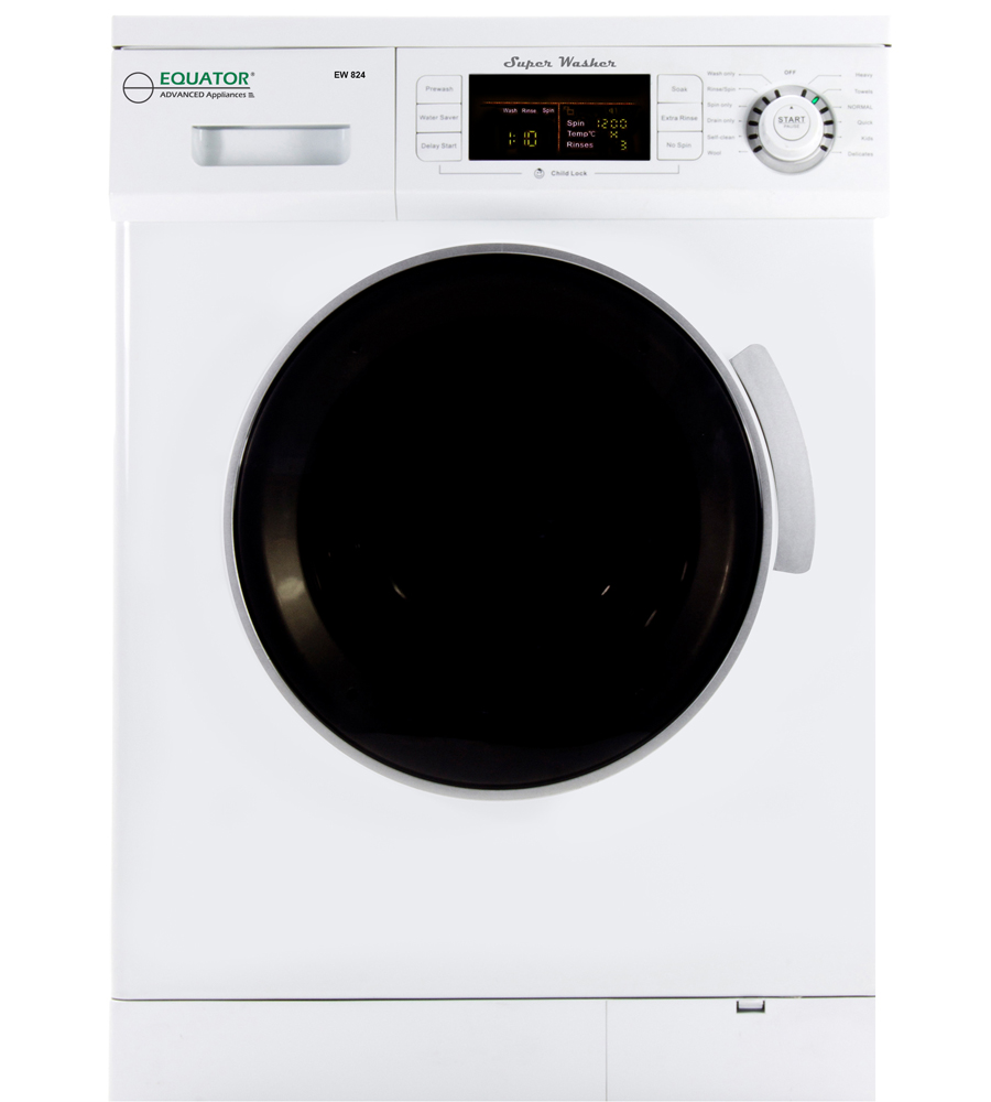 Equator Compact 13 lbs Super Washer White