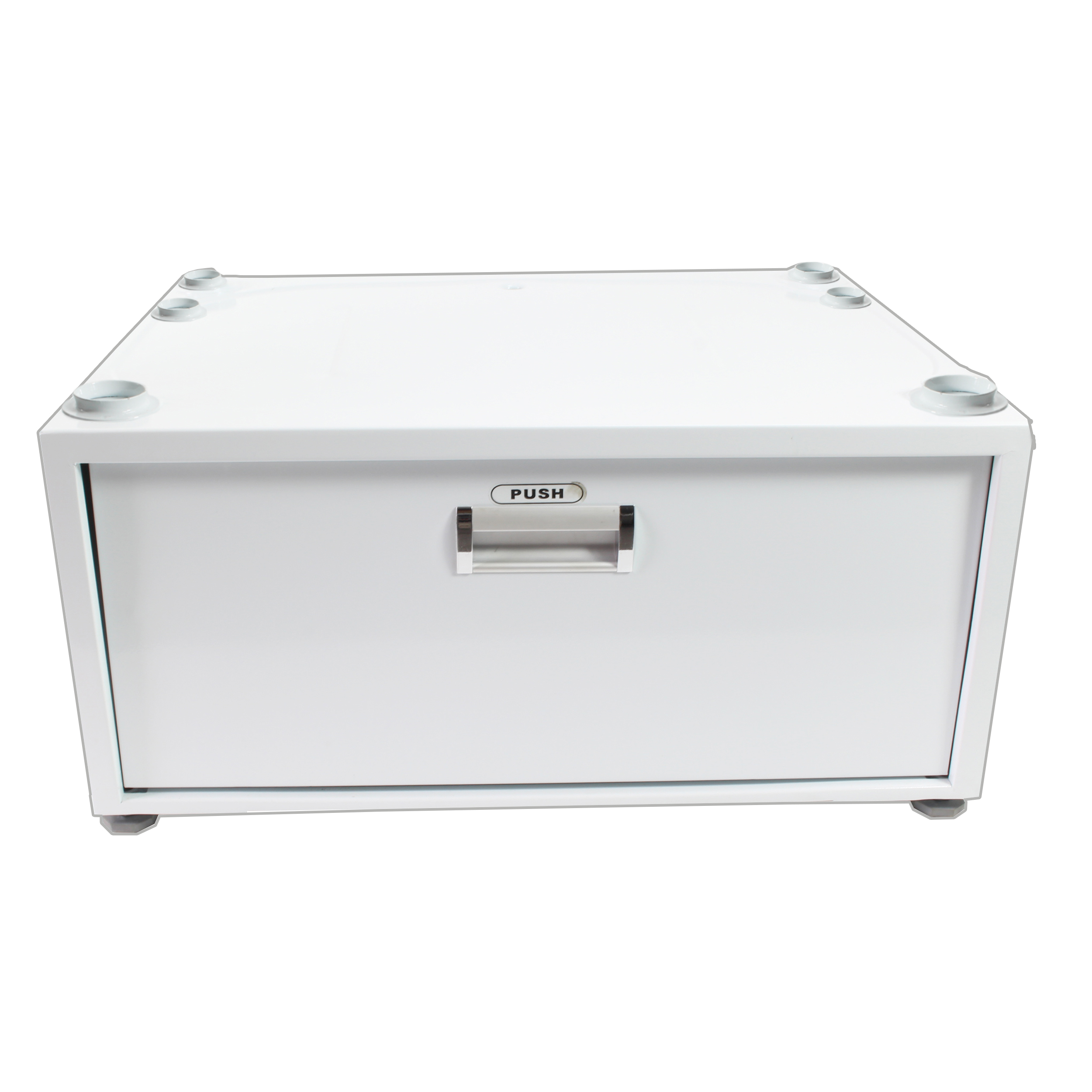 10 in. wide White Laundry Pedestal