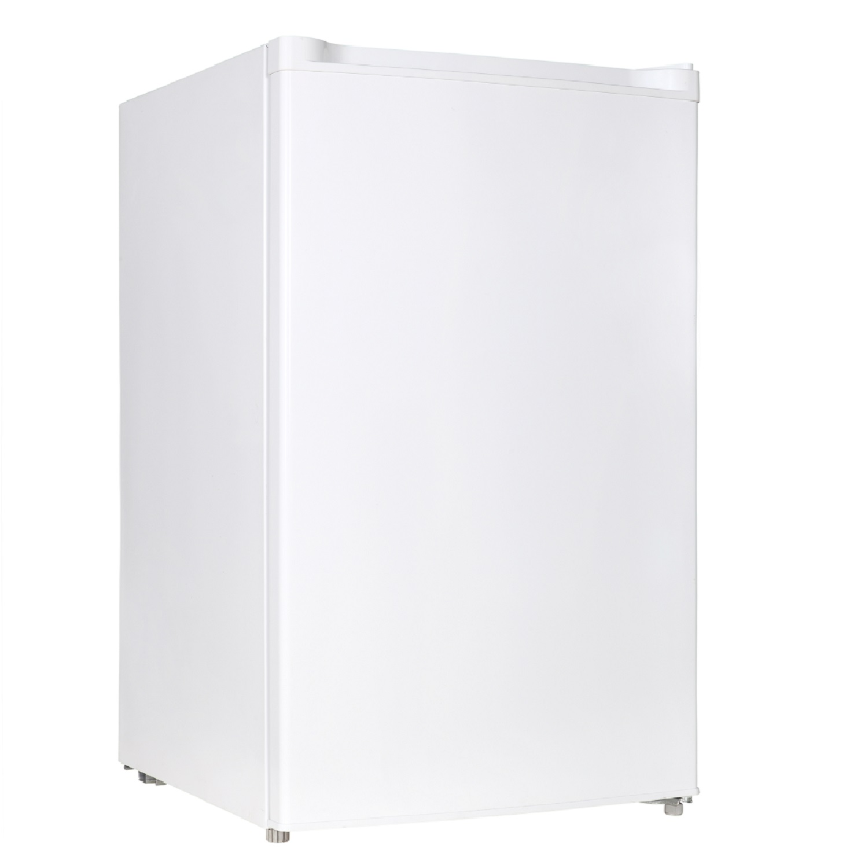 4.4 Cu. Ft. Compact Refrigerator, White.