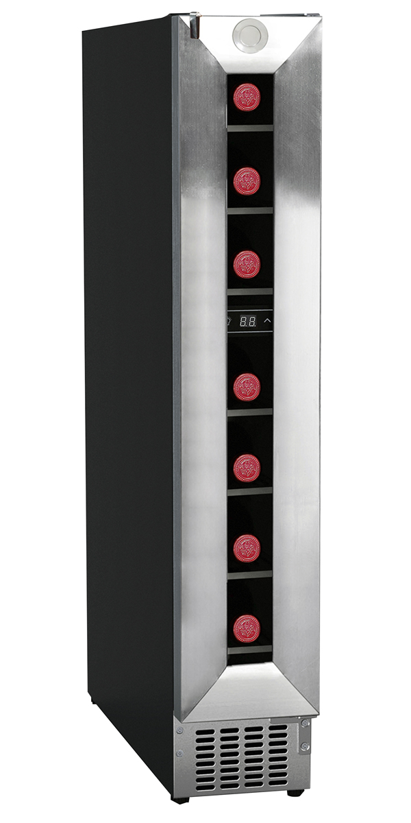 Equator-Deco 7-Bottle Slim Wine Refrigerator