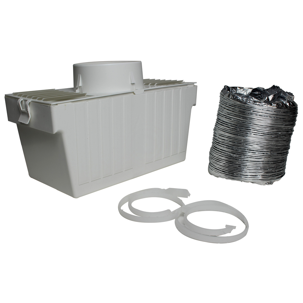Vent Bucket for Combo Washer Dryers and Dryers & Stackable Sets