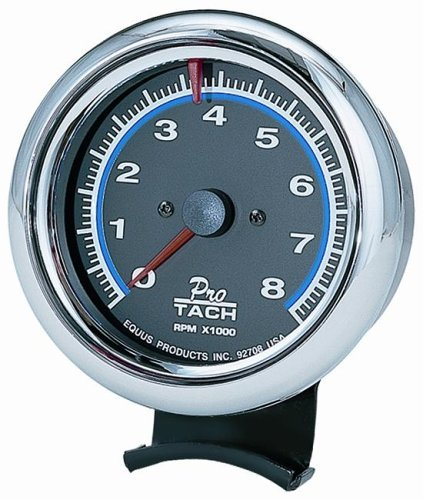 CHROME TACHOMETER, 3-3/8""