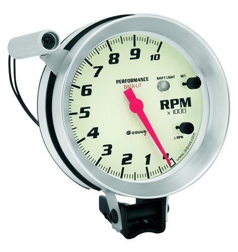 SHIFT LITGH TACHOMETER WHITE, 5""