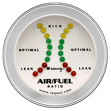 "AIR/FUEL RATIO GAUGE, 2"""