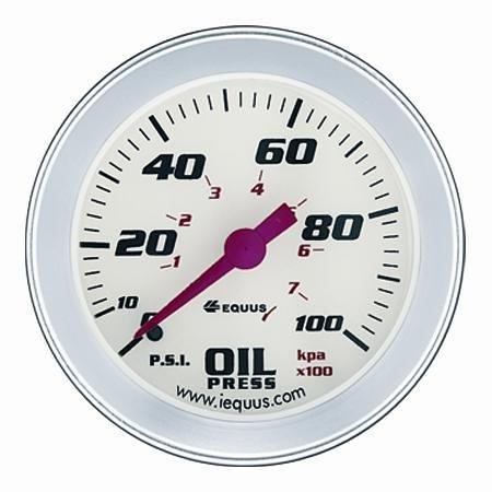 "MECHANICAL OIL PRESSURE GAUGE KIT, 2-5/8"""
