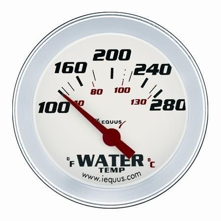 "ELECTRIC WATER TEMPERATURE GAUGE, 2-5/8"""