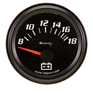 VOLTMETER GAUGE KIT, 2""