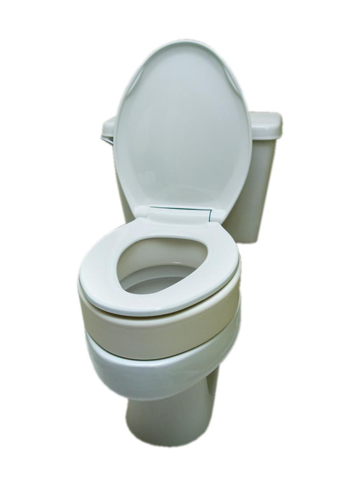 Toilet Seat Riser-Elongated
