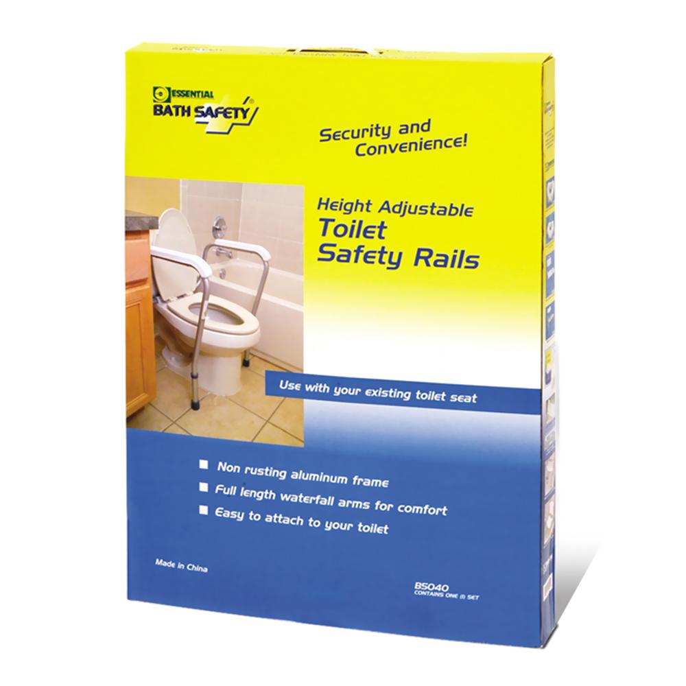 Adj. Toilet Safety Rails