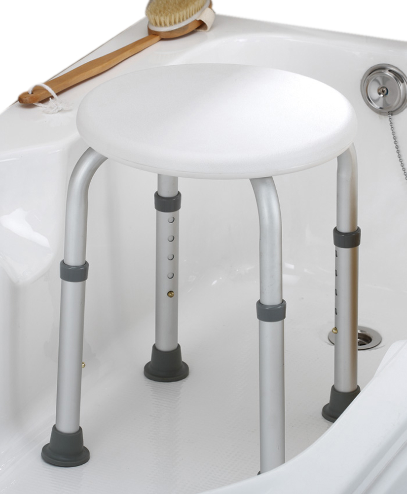 Round Bath Stool-Tool Free