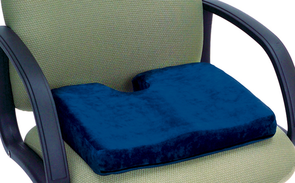 Memory P.F. Sculpture Comfort Seat Cushion with Cut Out