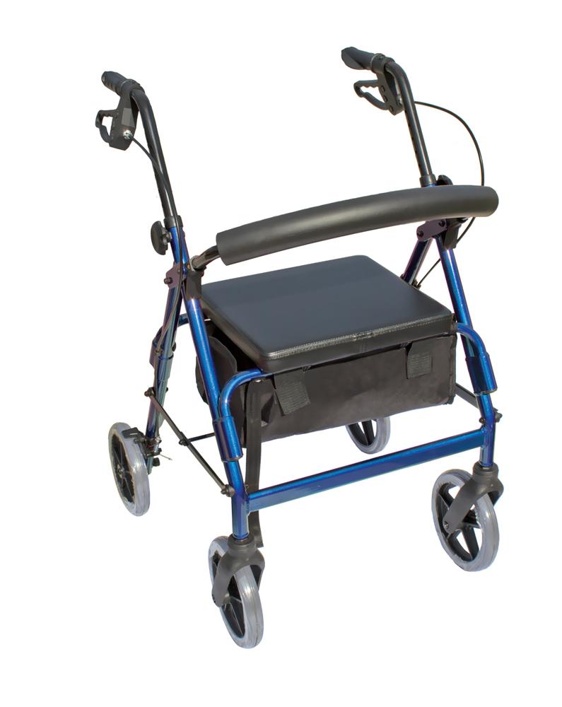 The Blazer 4 Wheel Walker - Blue