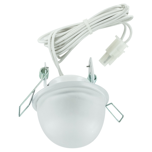 2.5 Inch Mini Downlight - Frosted Lens - White Finish