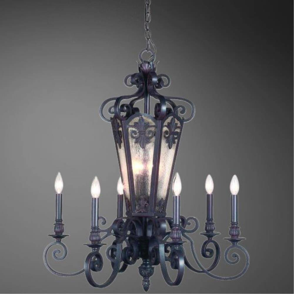 Eurofase Chandeliers Lonsdale Collection 9-Light 215 in. Hanging Aged Iron Chandelier 17482-011